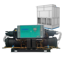 低溫螺桿式冷水機 400HP