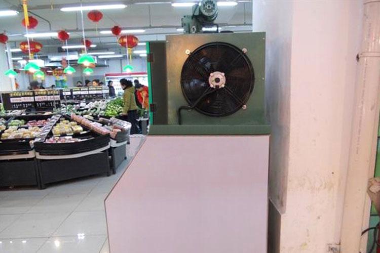 卖场超市片冰机保鲜冷冻工程图1