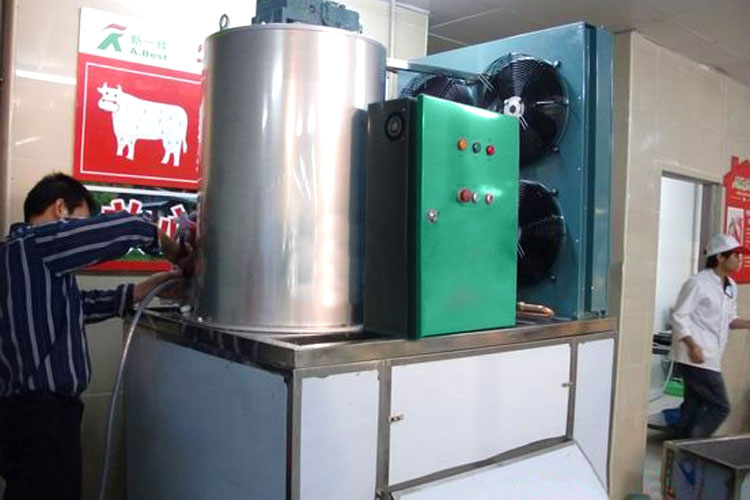 卖场超市片冰机保鲜冷冻工程图2