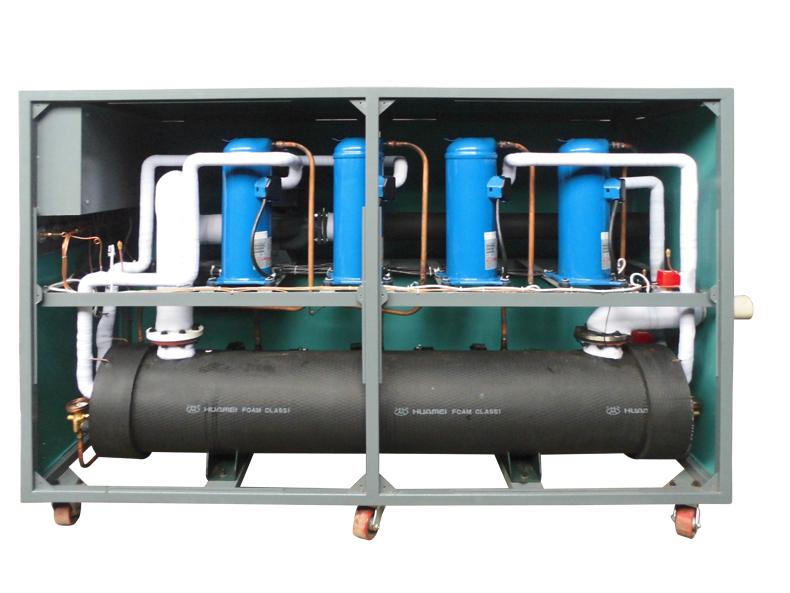 风冷式冷水机内构图