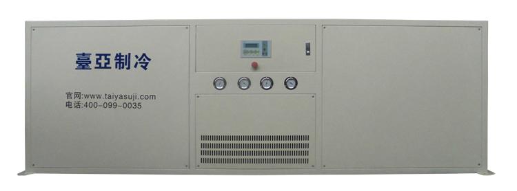食品微波设备专用冷水机正面